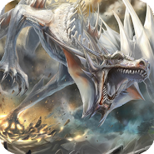 White Dragon Live Wallpaper
