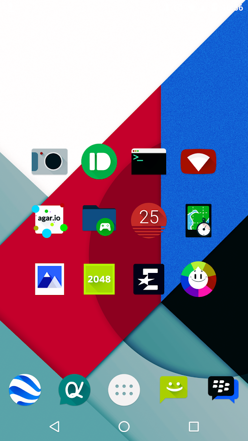 Iride UI is Dark - Icon Pack Screenshot 0