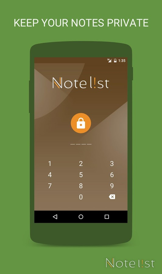 Note list - Notes & Reminders Screenshot 1