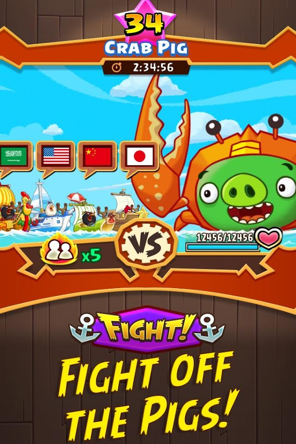 Angry Birds Fight! RPG Puzzle Screenshot 4