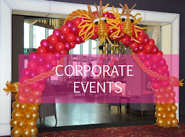Corporate Event Balloons Suppliers | Certified Balloon Artists UK | Top Balloon UK