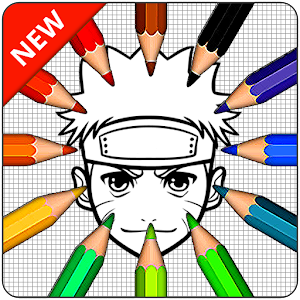 Coloring page of Anime