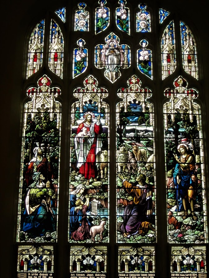 Stained Glass, Peterborough, Ontario by Carl VanderWouden - Artistic Objects Other Objects