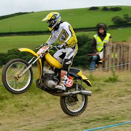 Scrambler by Allan Benson - Sports & Fitness Motorsports ( bike, motorbike, biker, scramble, motorcycle, race )