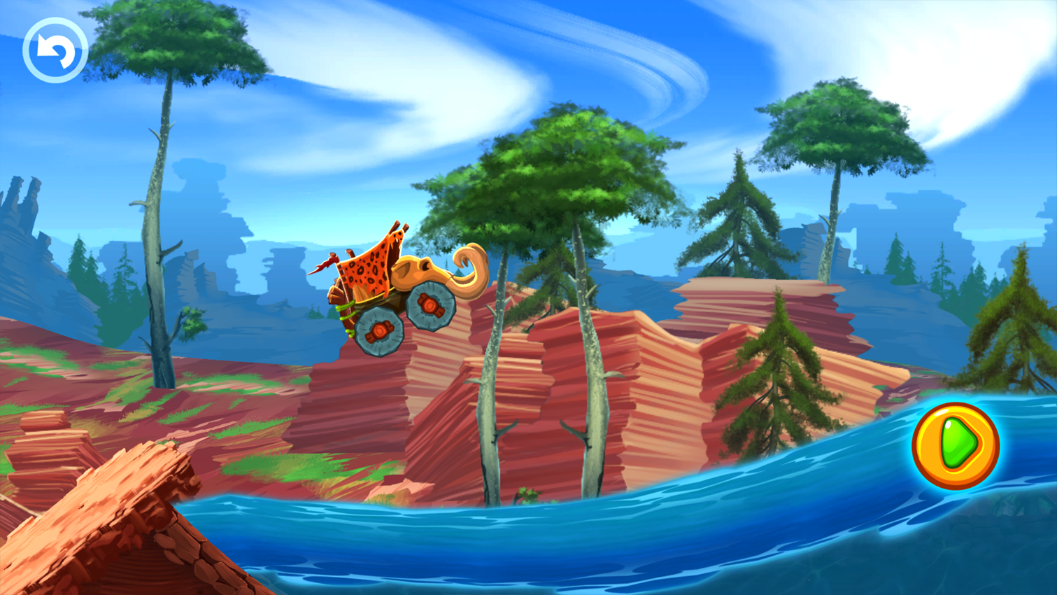 Fun Kid Racing Prehistoric Run Screenshot 13