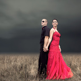 red by Ante Gašpar - Wedding Bride & Groom ( wedding )