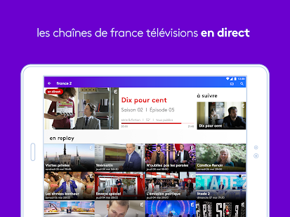 app france tv direct et replay apk for windows phone android games and apps. Black Bedroom Furniture Sets. Home Design Ideas