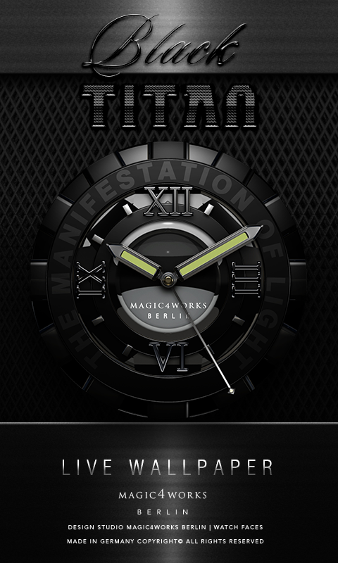 HD Analog Clock Bundle LWP 3 Screenshot 2
