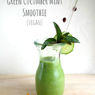 Green Cucumber Mint Smoothie