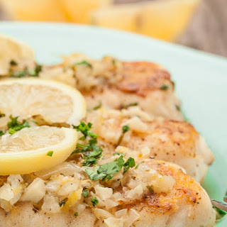 White Wine Lemon Butter Sauce For Fish Recipes