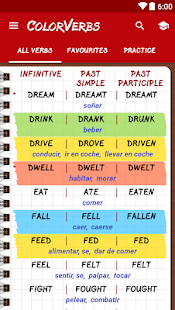 English Irregular Verbs PRO- screenshot thumbnail