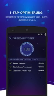 DU Speed Booster & Optimierer Screenshot
