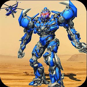 Air Robot Transform Helicopter Robot Battle War For PC / Windows 7/8/10 / Mac – Free Download