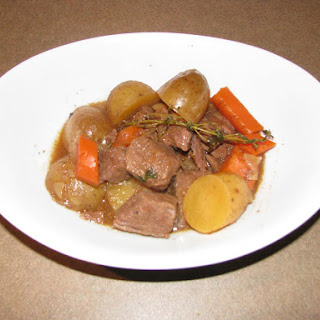 Slow Cooker Maple Beef Stew