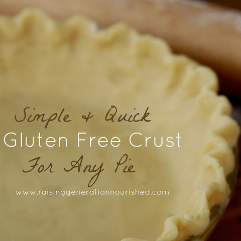 Simple & Quick Gluten Free Crust For Any Pie