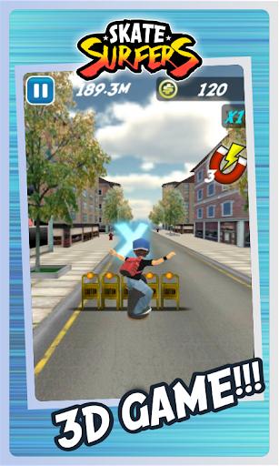 Skate Surfers Free screenshot 1