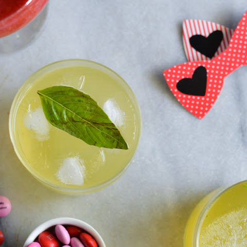 Galentine's Day Basil Crush