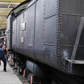 GERBONG KERETE TUA by Mãrkûss Phújý - Transportation Trains ( prosumer,  )