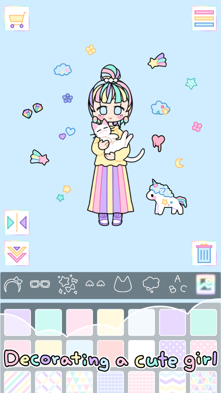 Pastel Girl Screenshot 1
