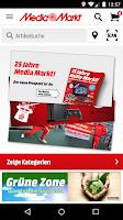 Screenshot of Media Markt Österreich