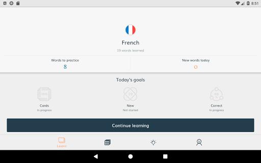 Lingvist: learn a language – fast screenshot 8