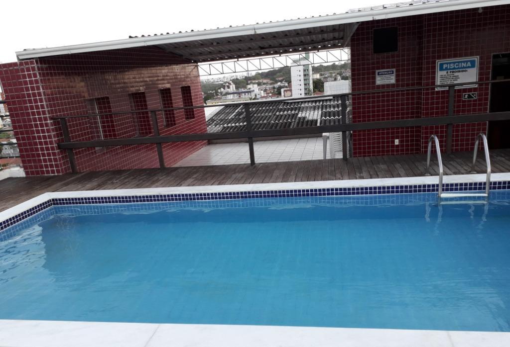 Apartamento com 3 dormitórios à venda, 78 m² por R$ 250.000 - Tambauzinho - João Pessoa/PB