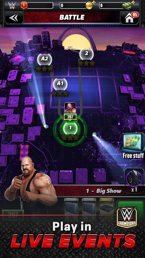 WWE Champions Free Puzzle RPG Screenshot 5