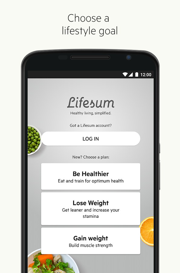 Lifesum: Healthy lifestyle app Screenshot 0