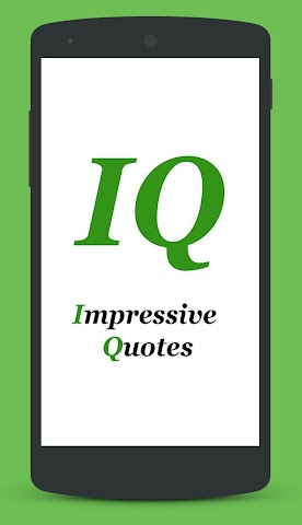android Impressive Quotes Screenshot 0