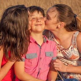 Sisterly love by Morne Kotze - Babies & Children Children Candids (  )
