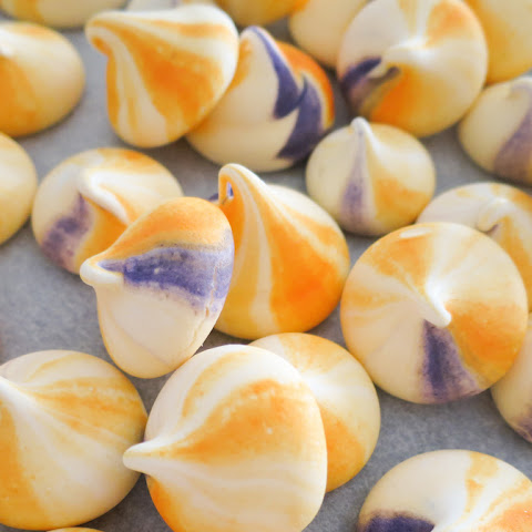 Passion Fruit Meringue Kisses