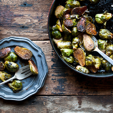 Balsamic Stout Brussels Sprouts