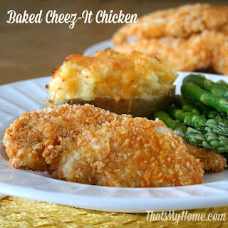 Baked Cheez It Chicken Recipes
