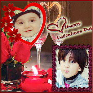Valentine Dual Photo Frames for PC-Windows 7,8,10 and Mac