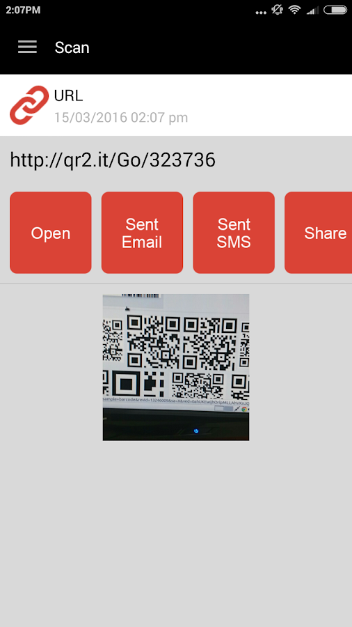 QR Code Reader PRO Screenshot 4