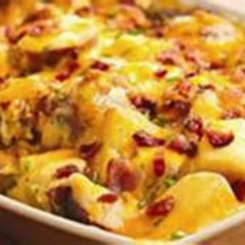 Deluxe Red Potato Bake (One Pan Meal)