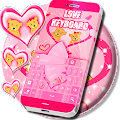 Pink Love Keyboard Free APK for Bluestacks