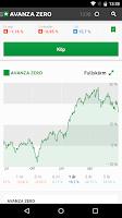 Screenshot of Avanza