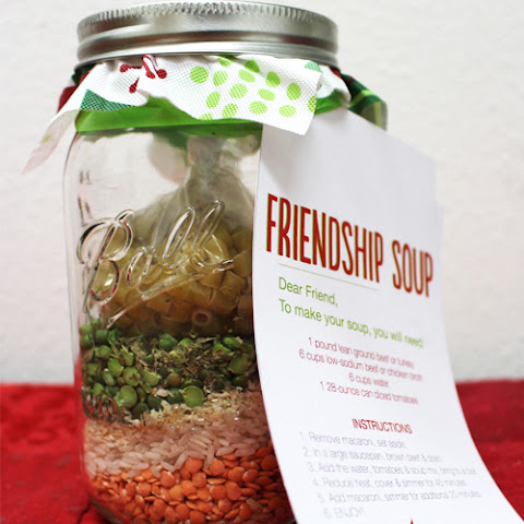 Friendship Soup in a Jar