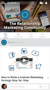 Relationship Marketing - screenshot