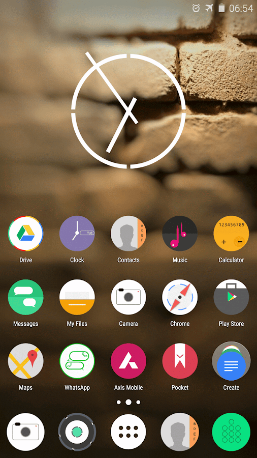 Ncept-Android N icon pack Screenshot 2