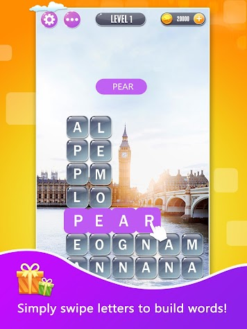 Word Town: Search, find & crush in crossword games Screenshot