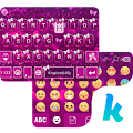 Butterfly Emoji Theme for Kika APK for Bluestacks