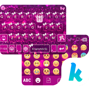 Butterfly Emoji Theme for Kika