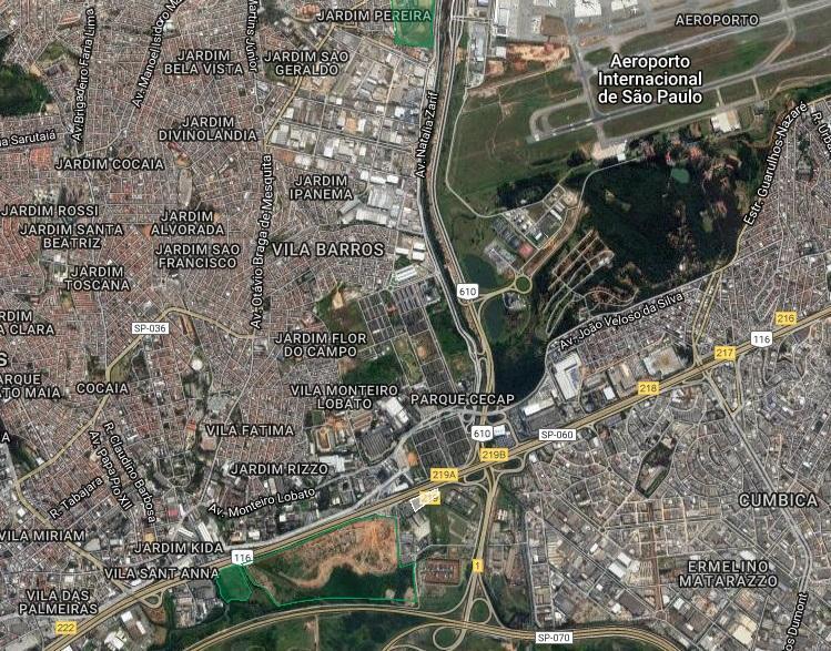 Terreno, Várzea do Palácio, Guarulhos (AR0170)