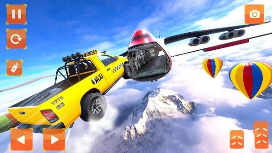 Taxi Car Stunts 2 Games 3D: Ramp Car Stunts