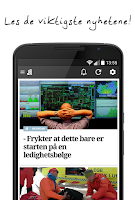 Screenshot of Aftenposten