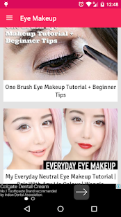 How to do Eye Makeup - screenshot