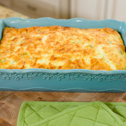 Chili Cheese Egg Bake