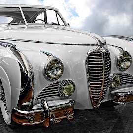 1949 Delahaye III by JEFFREY LORBER - Transportation Automobiles ( vintage cars, lorberphoto, rust 'n chrome, delahaye, old cars, jeffrey lorber )